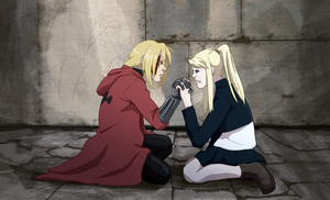 FMA: Your hands by WithoutName