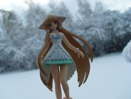 Chii in a winter scenery by Mako-chan89
