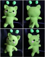 Space Kitten Plushie by HezaChan