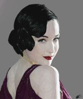 Dita in Violet by screamin2u