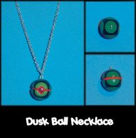 Dusk Ball Necklace Charm by YellerCrakka