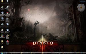 Desktop Diablo III by LetoCrows