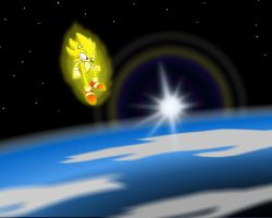 Super Sonic In Orbit by TheWax