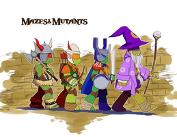 the Mazes and Mutants games by Pikafaa