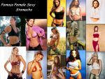 Famous Females Stomach WP by Stomach-Fetish-Club