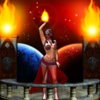DancerOfTheFlame by WyckedDreamsDesigns