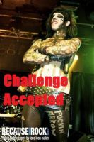 Andy has Accepted the Challenge by xbvbxlovex