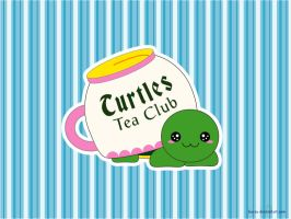 Turtles tea club by Boeru