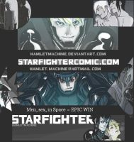 STARFIGHTER Flyer by STARFIGHTER-FANCLUB