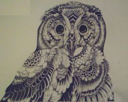Owl by HannahLouiseBailey