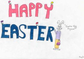 Happy Easter by GuardianKrayla