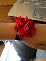 Duct Tape Corsage by SlightInsanity