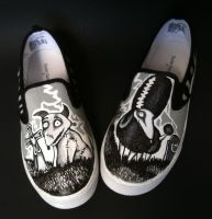 Frankenweenie Kids Shoes by rachelliles352