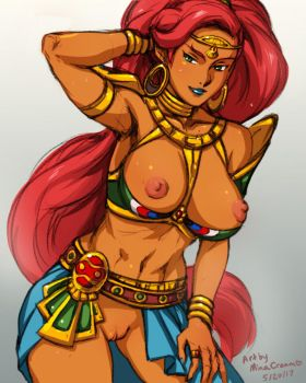 Daily Sketch - Urbosa by MinaCream