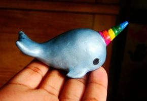 Mini Narwhal by SprinkleChick