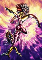 Purple Vixen Merpati Clash by cric