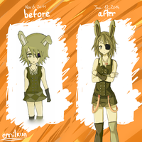 Before After meme by Emilkun