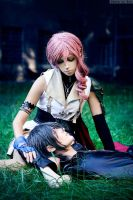 Lightning/Noctis by Faid-Eyren
