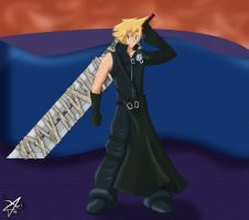 Cloud Strife - Kingdom Hearts by KitsuneFusion