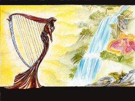 The Harp-falls by I-A-Grafix