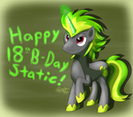 Plasma Bolt B-Day gift by Zipo-Chan