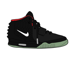 Nike Air Yeezy II by MattisamazingPS