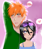 .: IchiRuki :. by ran-chu
