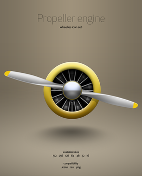 Propeller Engine icon by hbielen