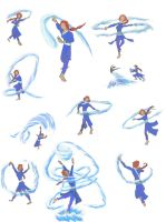 Waterbender Gestures by randomworks