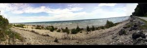 Mackinac Island Tree Beach by Grumbles106