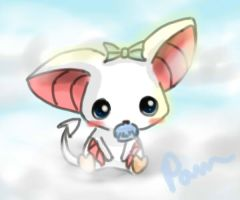 Baby Bat by Pameloo