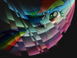 Broken Spectrum by Rainbow-Smashed