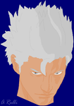 Binary Pen Portrait Vergil by DanteVergilLoverAR