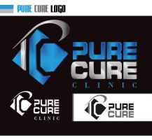 pure cure clinic logo by moslima