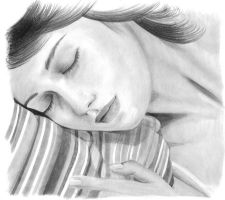 Woman sleeping by sompy
