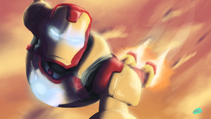Iron Man Selfie by Twisted4000