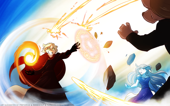 Mage Battle Royale by Twokinds