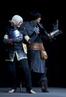 Fenris and Hawke - Dynamic Duo by deeed