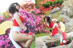 mai shiranui cosplay by neliiell