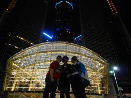 Us and the Ren Cen, Youmacon 2011 by MichiyoAndii