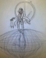 Goddess of Tragedy WIP by Portmanteal