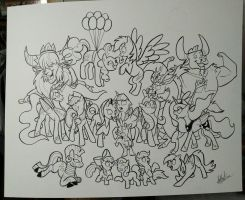 Pony horde  by secoh2000