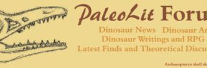PaleoLit Forum Banner by ChocolateStarfire