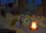 Little Pip Fallout of Equestria test animation by alexmakovsky