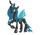 Queen Chrysalis by EquestianRacer