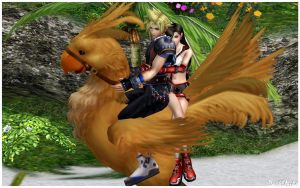 Ballad on chocobo by Dark6Nika