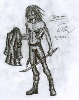 Telan and his Jacket by Draxen