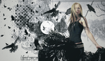 Avril Lavigne Wallpaper by yanet-rose-xx