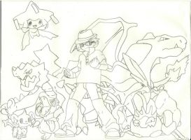 My Pokemon Team by Purdy26