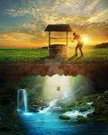 Well of water by kevron2001